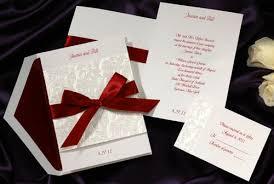 Classic Wedding Invitations Valentines Day Themed Wedding Invitations
