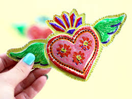 mexican heart valentine finished