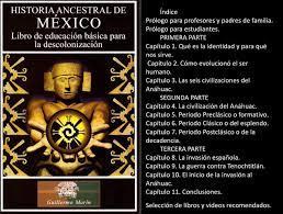 HISTORIA ANCESTRAL DE MÉXICO Libro