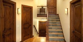 interior wood doors solid door with glass insert window in miami