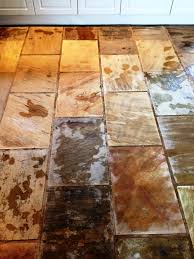 Sandstone Kitchen Floor Tiles Kitchen Stone Cleaning And Polishing Tips For Sandstone Floors