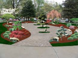 Lawn & Garden:Most Beautiful Japanese Garden Design With Country Arch Garden  Bridge Ideas Magnificent