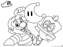 Super Mario Odyssey Kleurplaat Mandala Kleurplaat Voor Kinderen