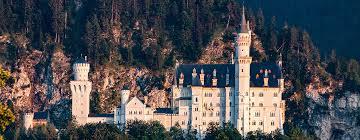 neuschwanstein castle in the summer