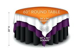 60 x square tablecloth tablecloths on round table squares
