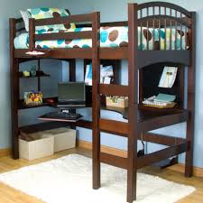 Image of: Queen Size Loft Bed Frame Style