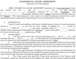 Related Post Free Triple Net Lease Template Residential Agreement ...