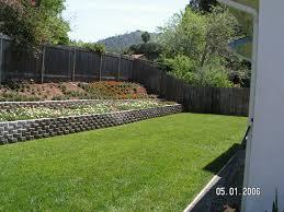 Small Picture Small Garden Retaining Wall Ideas Best Garden Design Ideas