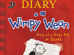 Light Blue Diary Of A Wimpy Kid Book Diary Of A Wimpy Kid Gets Bairn Again With First Ever Scots