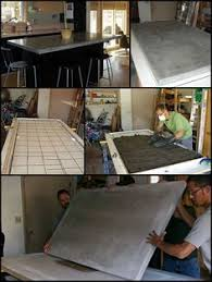images concrete countertops pinterest polished how to build a basic concrete countertop more recently polished concre