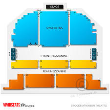 Brooks Atkinson Theatre Concert Tickets And Seating View