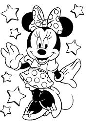 Goed Kleurplaat Minnie Mouse Kleurplaat 2019