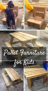 Pallets Kids Furniture Made From Pallets 101 Pallets Making My Yard
