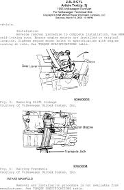 1993 VOLKSWAGEN ENGINES 2.5L 5-Cylinder. EuroVan - PDF