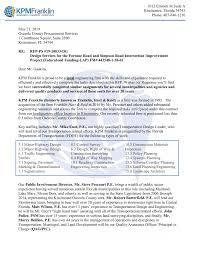 Fdot District 1 Organizational Chart Rfp 19 10833 Dg Kpm Franklin Final Pages 1 50 Text