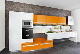Laquer furniture Antique Orange Color Painting Lacquer Furniture Flat Pack Kitchen Cabinet kc1060 Nl Orange Color Painting Lacquer Furniture Flat Pack Kitchen Cabinet