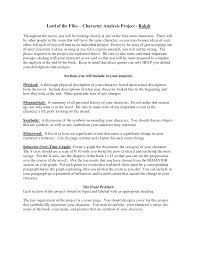 essay about character analysis what is a character analysis essay