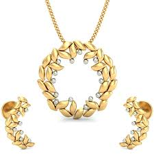 the awesome gold pendant set