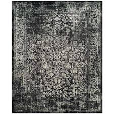 evoke black gray 10 ft x 14 ft area rug