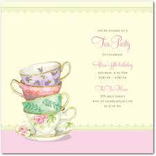 tea party templates tea party flyer template free tea party invitation templates