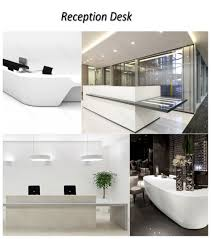 office reception table design. Shop Counter Design Images Diy Retail Plans Interesting Compact Kitchen Table White On Marble Flooring Furniture Office Reception S