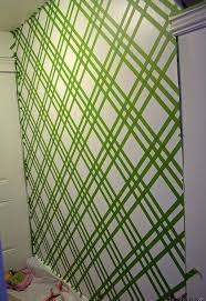Small Picture DIY Modern Wall Design With Painters Tape Hometalk