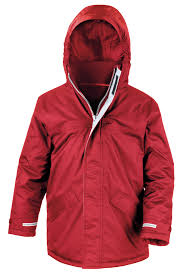 red core junior winter parka