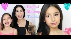 natural kids dance recital makeup tutorial dance makeup for the se