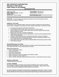Bank Teller Job Description Resume Best of New Job Objective Resume Examples Unique Judgealito Bank Teller