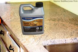 a quality granite sealer will provide excellent protection to your countertops