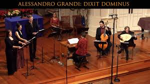 Alessandro Grandi: Dixit Dominus; Venetian Christmas Vespers, Voices of  Music - YouTube