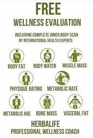 Free Wellness Evaluation In 2019 Herbalife Herbalife