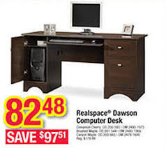 office depot computer desks. Realspace Dawson Cinnamon Cherry Computer Desk Office Depot Photo Details - These Ideas We\u0027d Desks U
