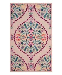 light pink bellagio wool rug