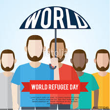 campaign poster templates free world refugee day campaign poster refugee awareness poster template