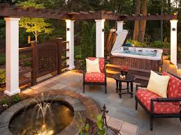 Small Picture Patio Water Feature Ideas HGTV