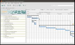 Free Gantt Chart Software For Students Ganttproject Free Desktop Project Management App