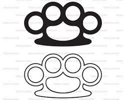 Search more hd transparent brass knuckles image on kindpng. Brass Knuckle Svg Etsy