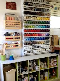 diy spray paint rack with free building plans
