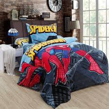 extraordinary spiderman bedding set queen sets size double twin bed sheet quilt duvet cover children boys bedsheet bedroom linen for kids toddler cotton