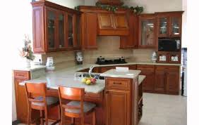 Small Picture Kitchen Decorating Ideas With Cherry Cabinets YouTube