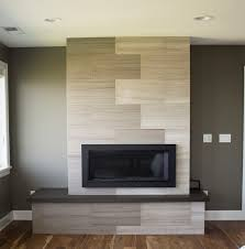 ... Cool Contemporary Fireplace Tile Designs Linear Fireplace With Vertical Fireplace  Tiles Ideas Modern Gallery: Full