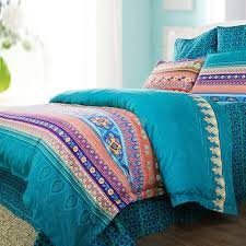 image of c and turquoise twin bedding