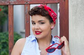 Coiffure Pin Up Avec Bandana En 5 Min Ariana Aceli Youtube
