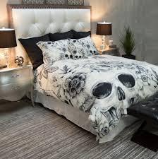 Skull Bedroom Skull Bed Sets Queen