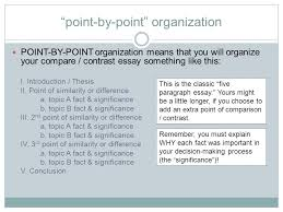 two different paths to the same goal organizing a compare   organizing a compare contrast essay 2 ""