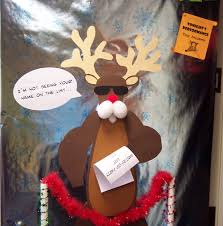 Funny Reindeer Decoration: Source Source