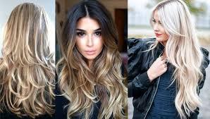 Módne účesy 2018 Na Dlhé Vlasy Fotografie Krásnych účesov Pre ženy