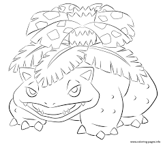 Small Picture 003 venusaur pokemon Coloring pages Printable