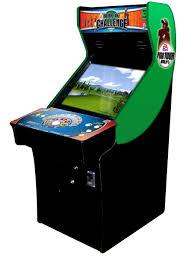 Golden Tee Cabinet Pga Tour Golf Challenge Edition Golf Electronic Arcade